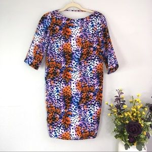 NWT ASOS animal print abstract spot multicolored